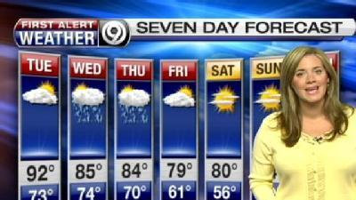Severe Storms Coming, Erin Says