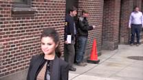 Selena Gomez Sports Sexy Leggy Look, Jokes She Made Justin Bieber Cry