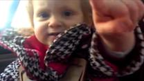 Little Girl Tells Dad to 'Worry About Yourself'