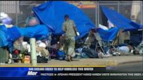 San Diegans urged to help homeless this winter