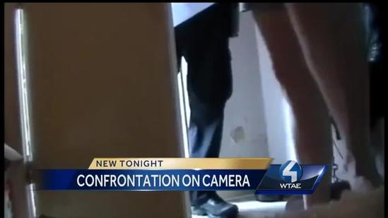 Confrontation With Police on Camera