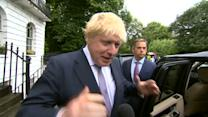 """Boris Johnson says """"project fear"""" is over"""
