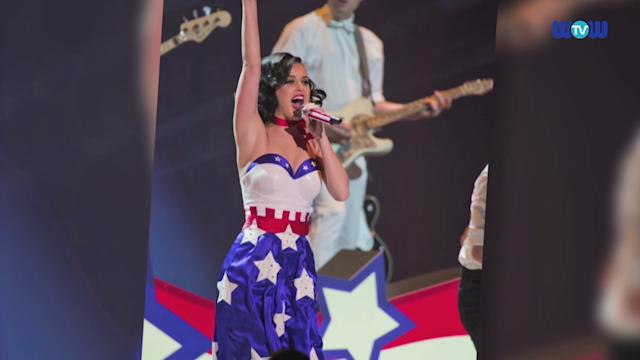 Wowtv - Katy Perry Wows in an American Flag Outfit at Kids' Inaugural Concert