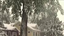Heavy snow storm blankets Wyoming, South Dakota