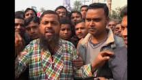 Violence in Bangladesh as ruling party set to win election