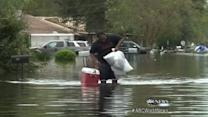 Isaac Leaves Entire Neighborhoods Underwater
