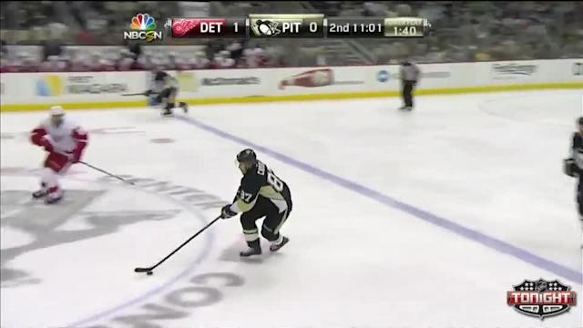 Detroit Red Wings at Pittsburgh Penguins - 04/09/2014
