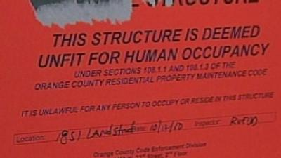 Hundreds Of Condos Condemned