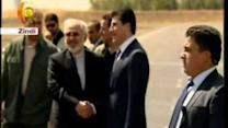 Iranian Foreign Minister Zarif Meets With Kurdish President in Arbil