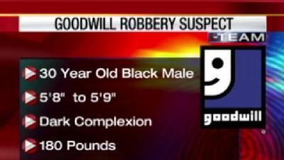 Clues Sought In Goodwill Store Robberies