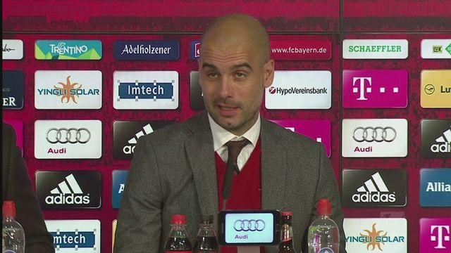 Guardiola says Bayern