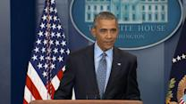 Obama Urges Press to Continue to Hold President Accountable