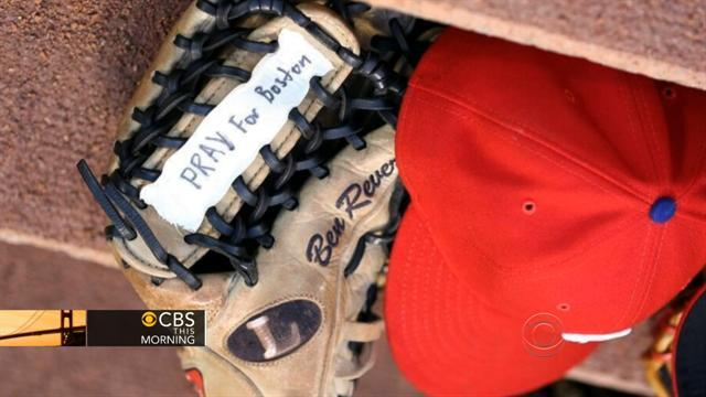 Sports teams come together to support Boston