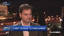 Greek taxman elected to Parliament