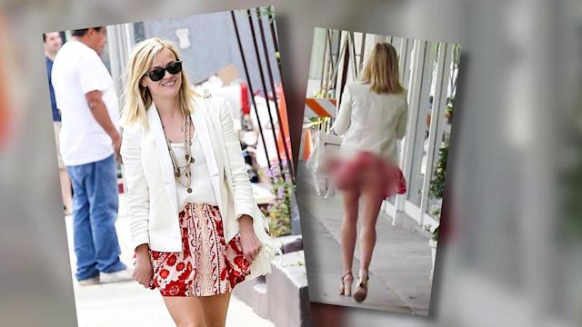 Reese Witherspoon Gets Cheeky While Out and About in Venice Beach