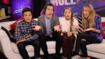 Cameron Dallas, Marcus Johns, and Lia Marie Johnson on Crazy Scenes from 'Expelled'