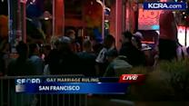 San Franciscans celebrate gay marriage gains
