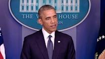 Obama Supports Egyptian Efforts for Ceasefire in Gaza
