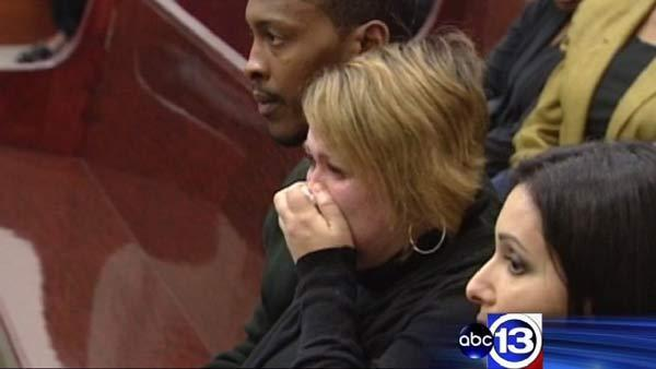 Victim's relatives break down in tears in court