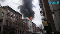 Building Explodes in NY East Village