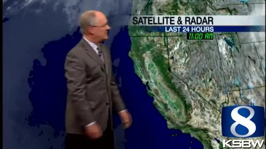 Watch Your KSBW Weather Forecast 04.17.13