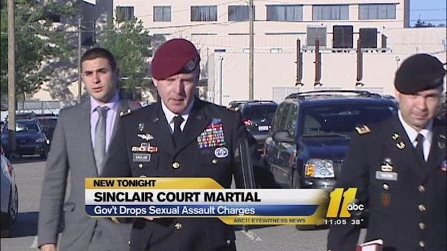 Government drops sex assault charges against General Sinclair