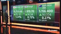 Asian shares open up