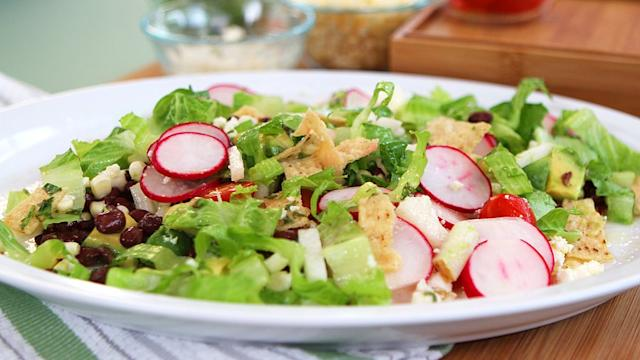 A Sophisticated Take on Taco Salad - No Cooking Required