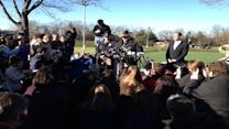 Police press conference on deadly Newtown shooting