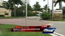 Unarmed suspect killed in deputy-involved shooting