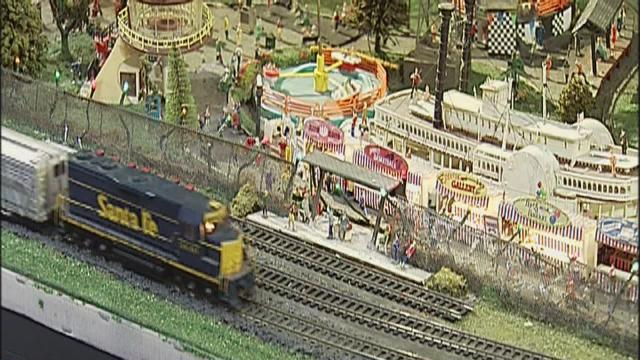 Model train show was held at the Kern County Fairgrounds this weekend