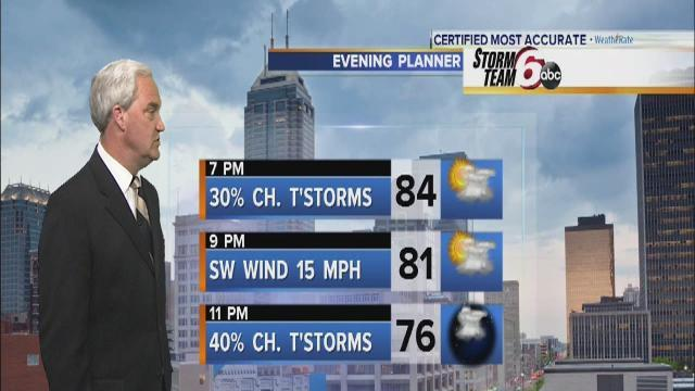 Tonight's Forecast: Thunderstorms likely
