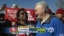 49ers fans rally in Atlanta for NFC championship