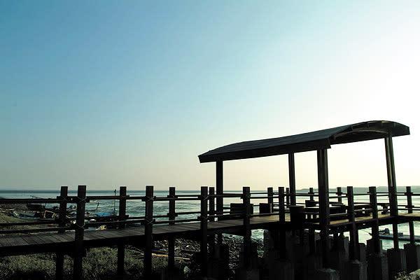 台西海園黃昏 (圖/雲林縣政府)