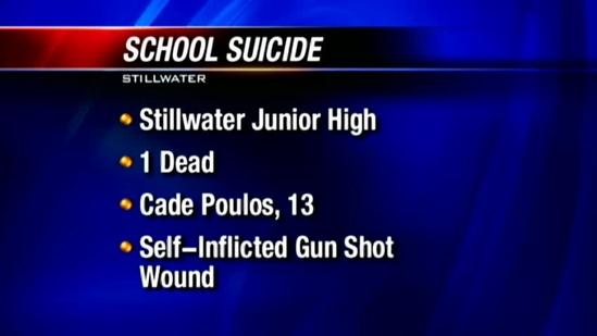 11:30 a.m. news conference: Officials talk about suicide at school