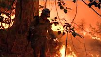 Wildfire Grows While Containment Decreases
