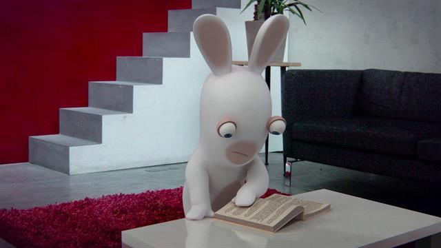 Rabbids Can't Read!