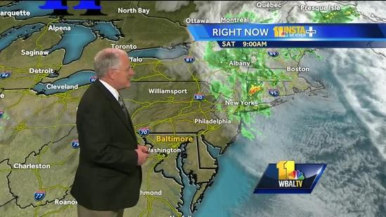 Maryland's weekend weather forecast