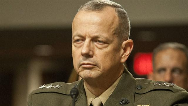 Gen. Allen announces retirement to care for wife