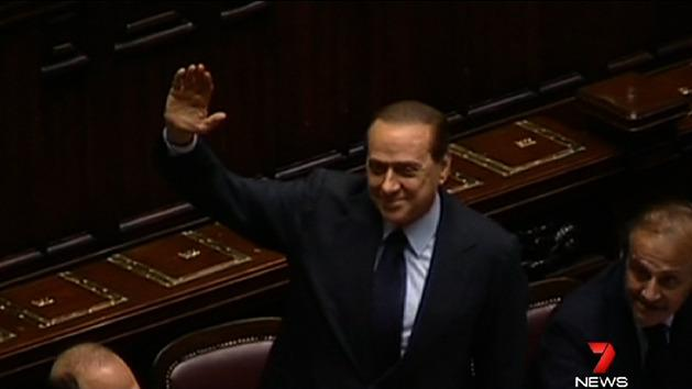 Berlusconi sentenced to jail over romp