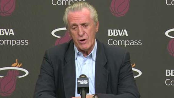 Pat Riley on Big 3 Staying in Miami