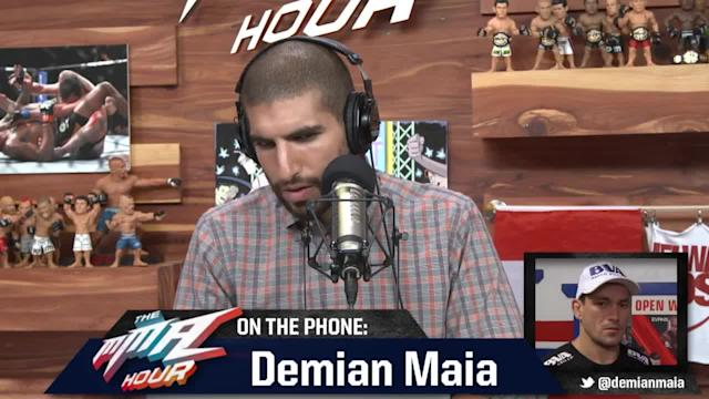 The MMA Hour - Episode 191 - Demian Maia