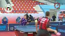 Epic Behind-the-Back Ping Pong Shot