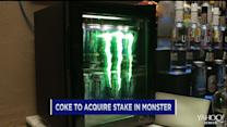 Monster gets a Coke boost; J.C. Penney jumps; Gannett gains on Icahn stake