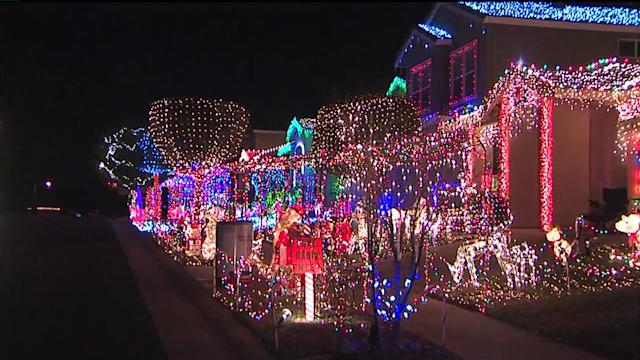 Neighborhood Goes All Out for the Holidays