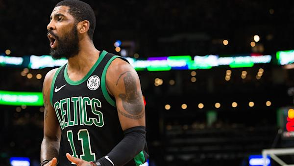 9a9cbbe1e625 Kyrie Irving irked by  crazy  Kevin Durant free agency rumours
