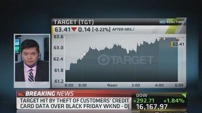 Target credit card breach extensive: Dow Jones