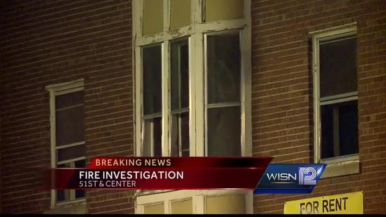 Vacant building burns in early-morning fire