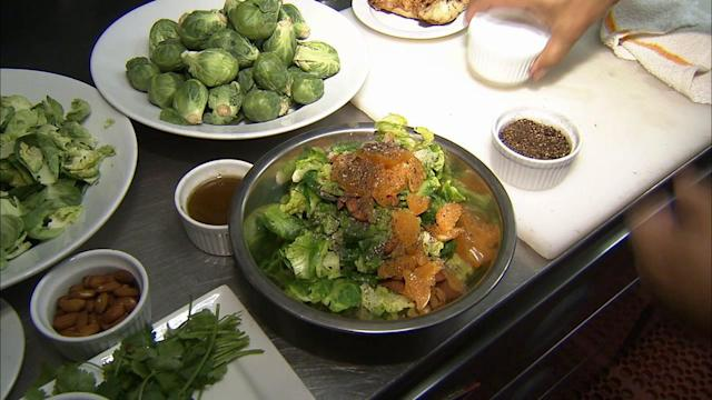 How to cook tasty broccoli, Brussels sprouts, red cabbage