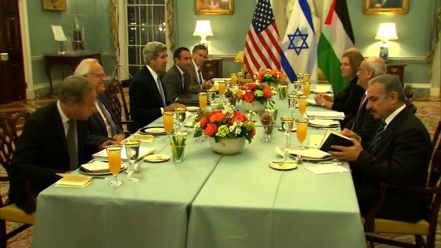 ?Kerry hopeful for Mideast peace talks?